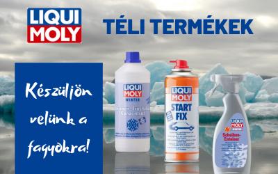 Készüljön a téli hidegekre Liqui Moly termékekkel