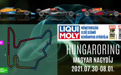 HUNGARORING Forma1 2021