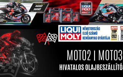 MOTO2 | MOTO3 kizárólagos olajbeszállítója a LIQUI MOLY